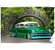 1954 Chevrolet Custom/In the Garden Poster