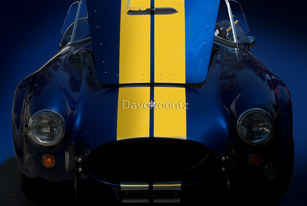 Shelby Cobra w/Hood Up by DaveKoontz