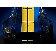 Shelby Cobra w/Hood Up Photographic Print