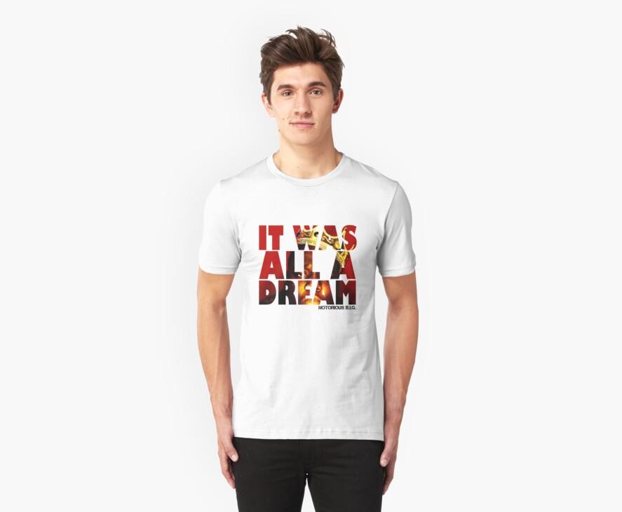 NOTORIOUS B.I.G. T Shirt  by jackthewebber