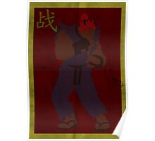 FIGHT: Street Fighter Edition #3 Akuma Poster