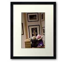 Jimmy Exhibit Framed Print