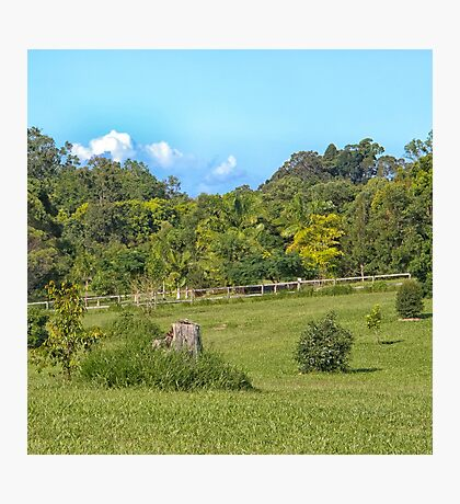 Beautiful Rural Property Photographic Print