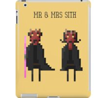 Mr & Mrs Sith iPad Case/Skin