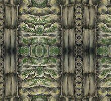 Pastel Masonry Pattern by Orla Cahill