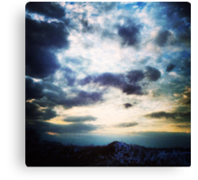 March Evening Canvas Print