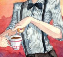 Tea, Jammy Dodgers & Daleks Sticker
