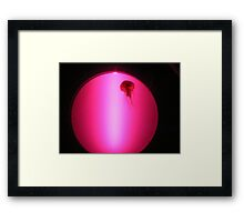 Neon Jellyfish! Framed Print