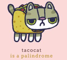 Tacocat is a palindrome One Piece - Long Sleeve