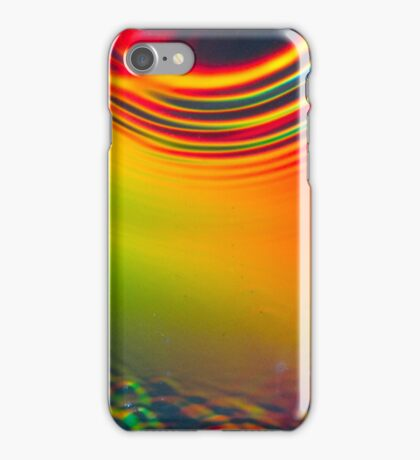 Colourful refraction iPhone Case/Skin
