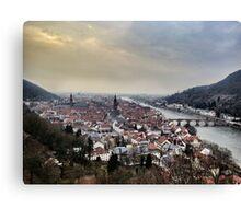 Heidelberg Valley Canvas Print