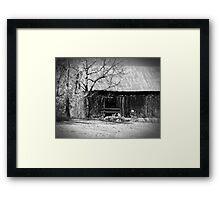Rustic Tennessee Barn Framed Print