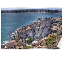 Granite Island, Victor Harbor, South Australia Poster