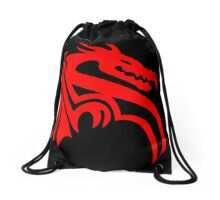Abstract Dragon Design Drawstring Bag