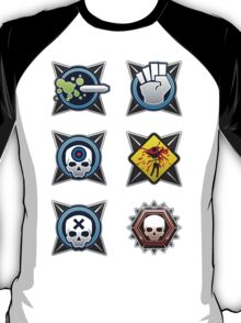 Halo 4 Sticker Pack 1 T-Shirt