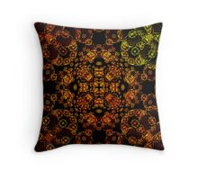 Animal Faces Throw Pillow