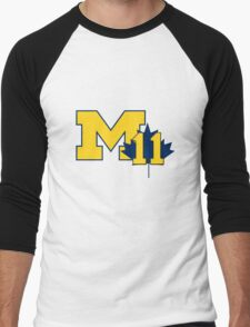 Nik Stauskas #11 UofM T-Shirt  Men's Baseball ¾ T-Shirt
