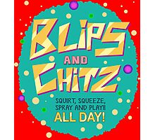 Rick & Morty - Blips and Chitz! Photographic Print