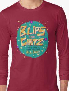 Rick & Morty - Blips and Chitz! Long Sleeve T-Shirt