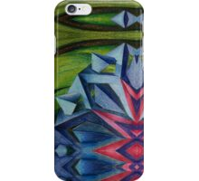 Abstract Geometric Flower iPhone Case/Skin