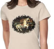 Rod Serling's Boyhood Carousel  Womens Fitted T-Shirt