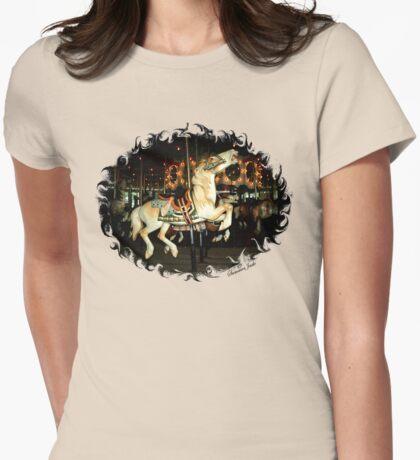 Rod Serling's Boyhood Carousel  Womens Fitted T-Shirt