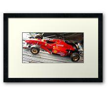 f1 ferrari Framed Print