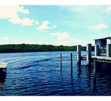 Lake Landscape Photography - Jonathan Dickinson State Park Photographic Print
