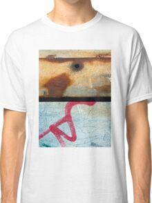 Graffiti and Rust  Classic T-Shirt