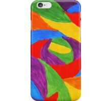 Abstract Bold Art - Colorful Painting iPhone Case/Skin