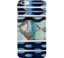 Metal Blue iPhone Case/Skin