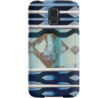 Metal Blue Samsung Galaxy Case/Skin