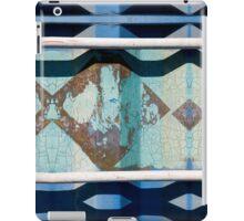 Metal Blue iPad Case/Skin