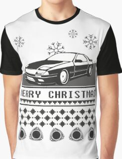 Merry Christmas rx7 Graphic T-Shirt