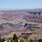 The Colorado River,Grand Canyon National Park,Arizonia,USA by Anthony & Nancy  Leake