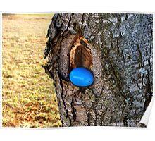 Easter Egg on Tree Poster
