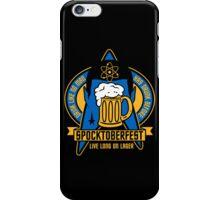 Spocktoberfest on Black iPhone Case/Skin