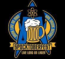 Spocktoberfest on Black by popnerd