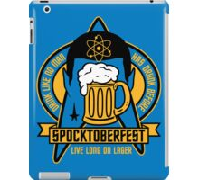 Spocktoberfest iPad Case/Skin
