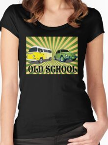 old schools vws Women's Fitted Scoop T-Shirt