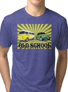 old schools vws Tri-blend T-Shirt