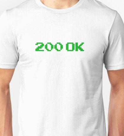 200 OK T-SHIRT Unisex T-Shirt