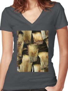 Withering Women's Fitted V-Neck T-Shirt