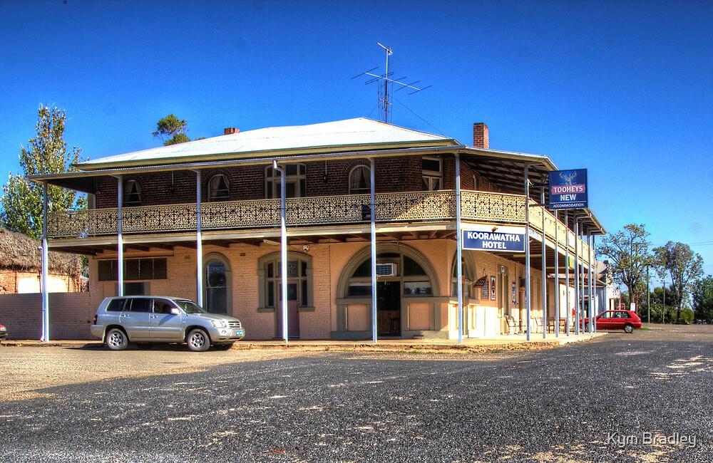 Koorawatha  Hotel Rural NSW  Australia  by Kym Bradley