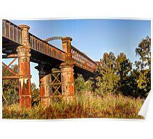 Only Cosmetic,  Railway Bridge  NSW Australia  Poster