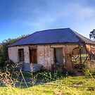Old Ruins  Cottage  Worrangong  NSW  Australia  by Kym Bradley