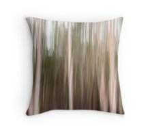 gum trees Throw Pillow