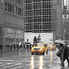 New York Cab by Kezzarama