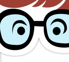 Velma Dinkley Geek Sticker