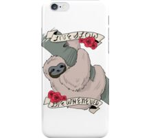 [live slow; die whenever] iPhone Case/Skin